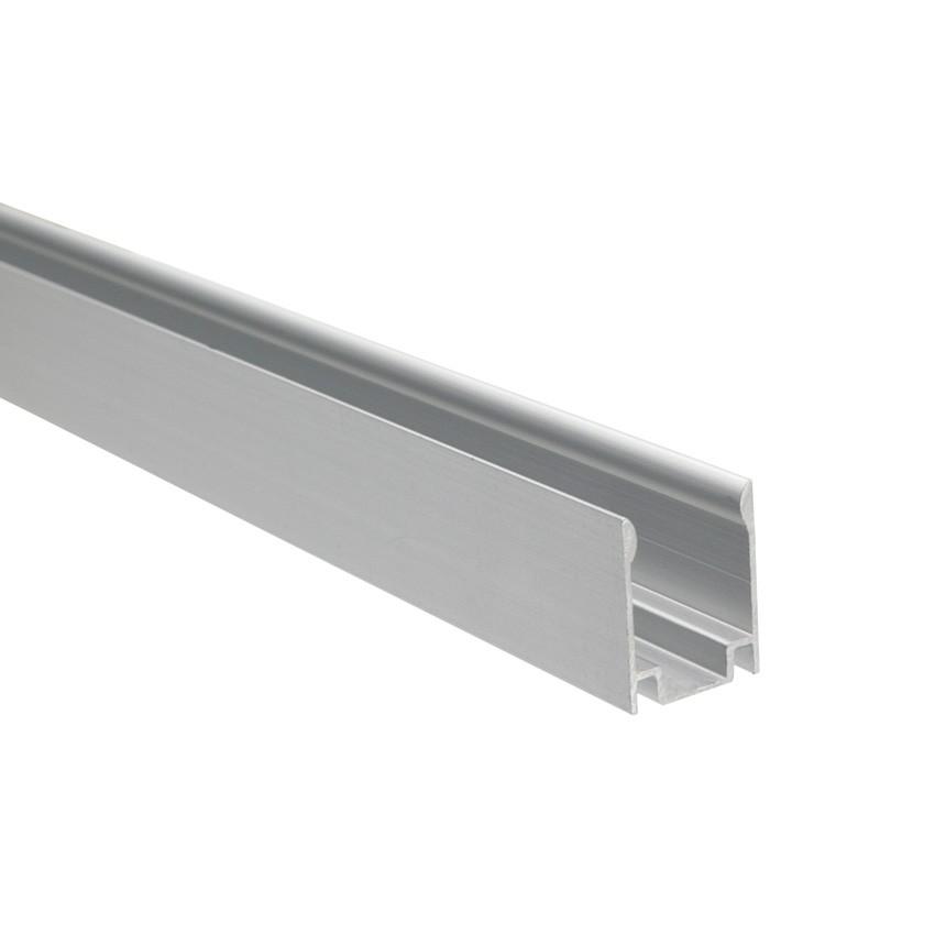 Perfíl de Alumínio 1m para Mangueiras Néon LED Flexivél RGB