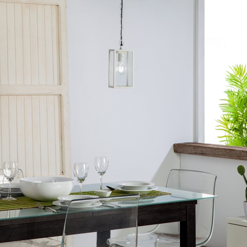 Lámpara Colgante Atrium Blanco