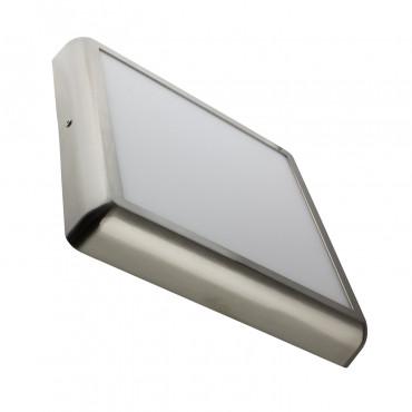 Placa Superfície LED Quadrada Silver Design 24W