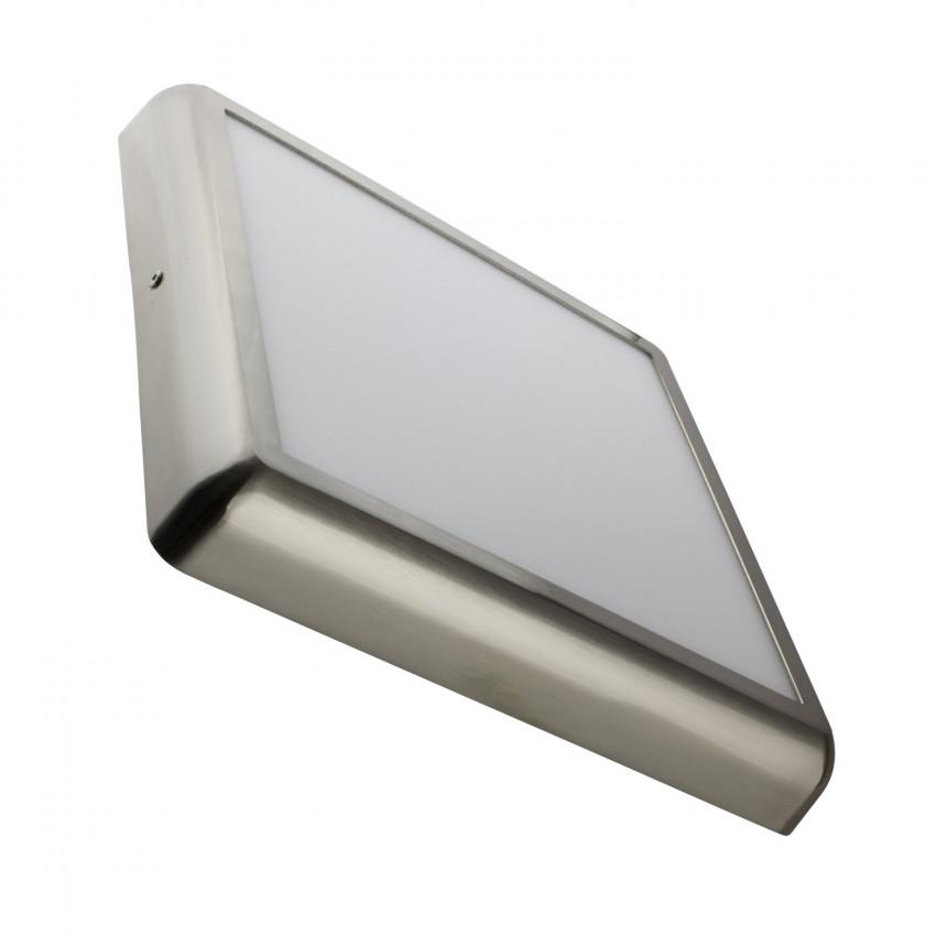 Plafón LED 24W Cuadrado Design Silver