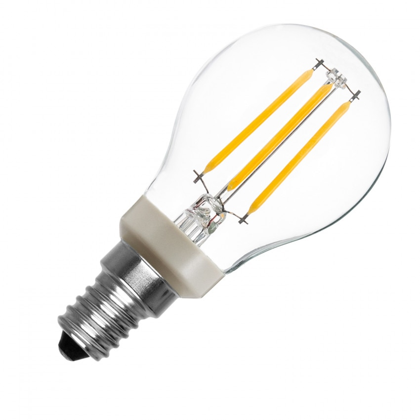 Lâmpada LED E14 P45 Regulável PHILIPS Filamento Luster CLA 4.5W
