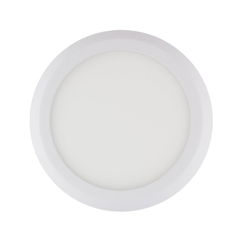 Placa Superfície LED Circular White Design 12W