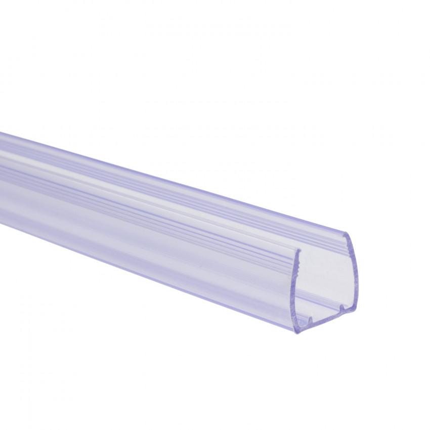 Perfíl de PVC 1m para Mangueiras Néon LED Flexivél RGB