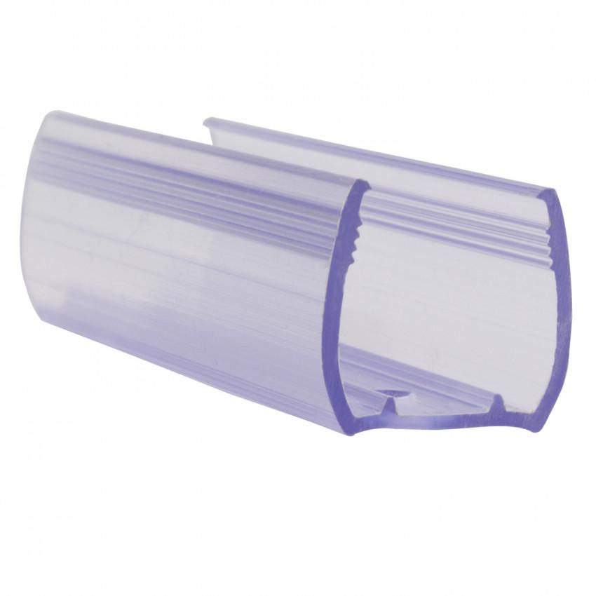 Clip de PVC Fijación para Neón LED Flexible RGB