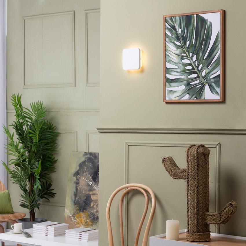 Aplique LED Parede Aguamarina