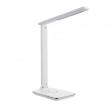 Lámpara LED con Cargador Inalámbrico
