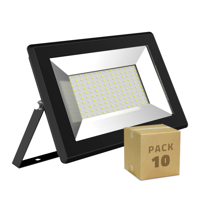 Pack Foco Proyector LED 100W Solid (10 un)