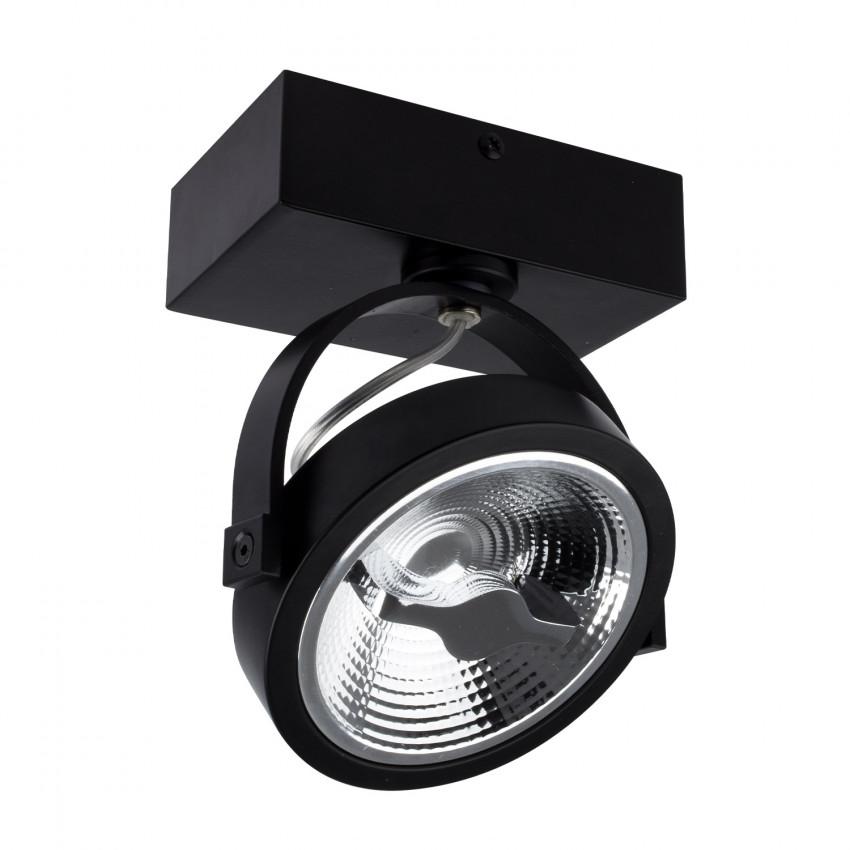 Foco LED CREE de Superfície Direccionável AR111 Preto 15W Regulável