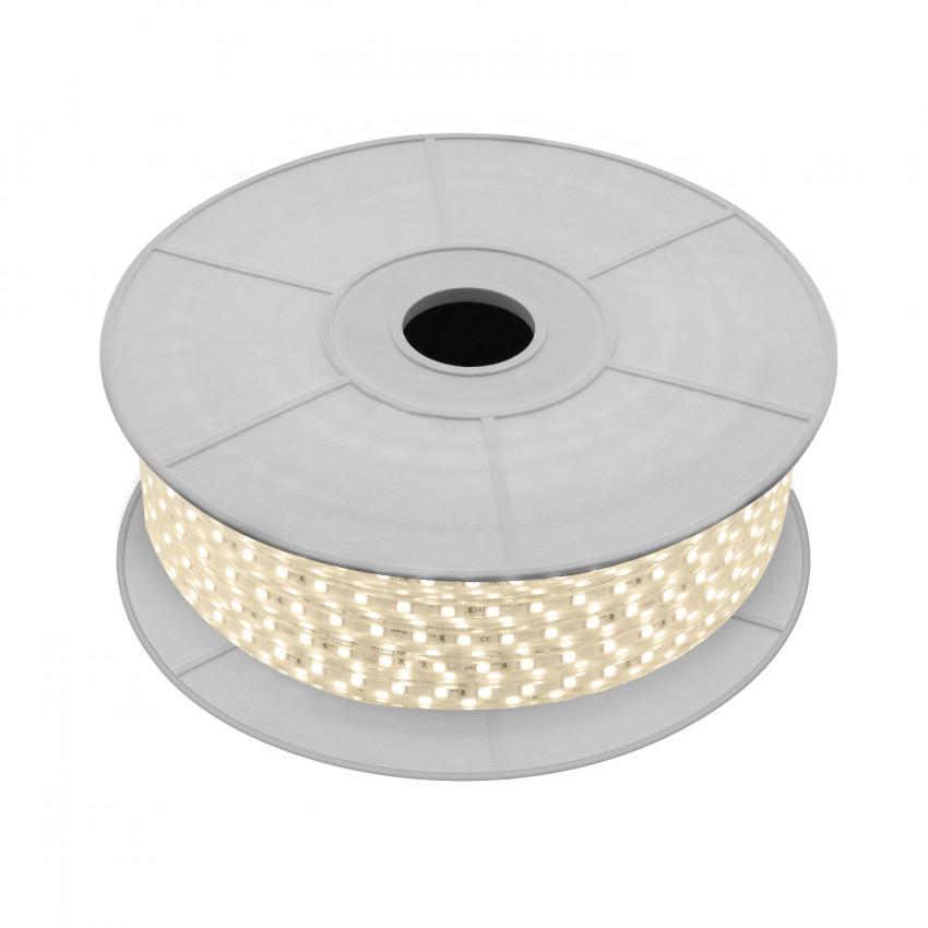 Rolo de Fita LED 220V AC SMD5050 60 LED/m Branco Quente (50 Metros)