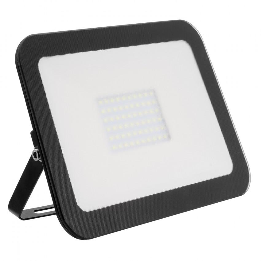 Foco Projector LED Slim Cristal 100W Preto