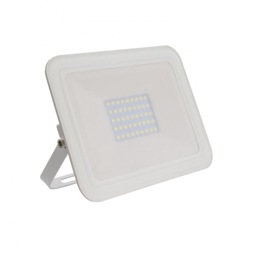 Foco Proyector LED 30W 120lm/W Slim Cristal Blanco