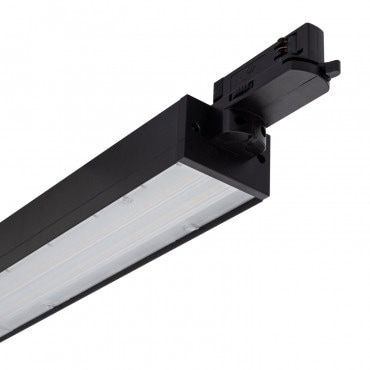 Foco LED Fenit 20W Negro para Carril Trifásico 600 mm