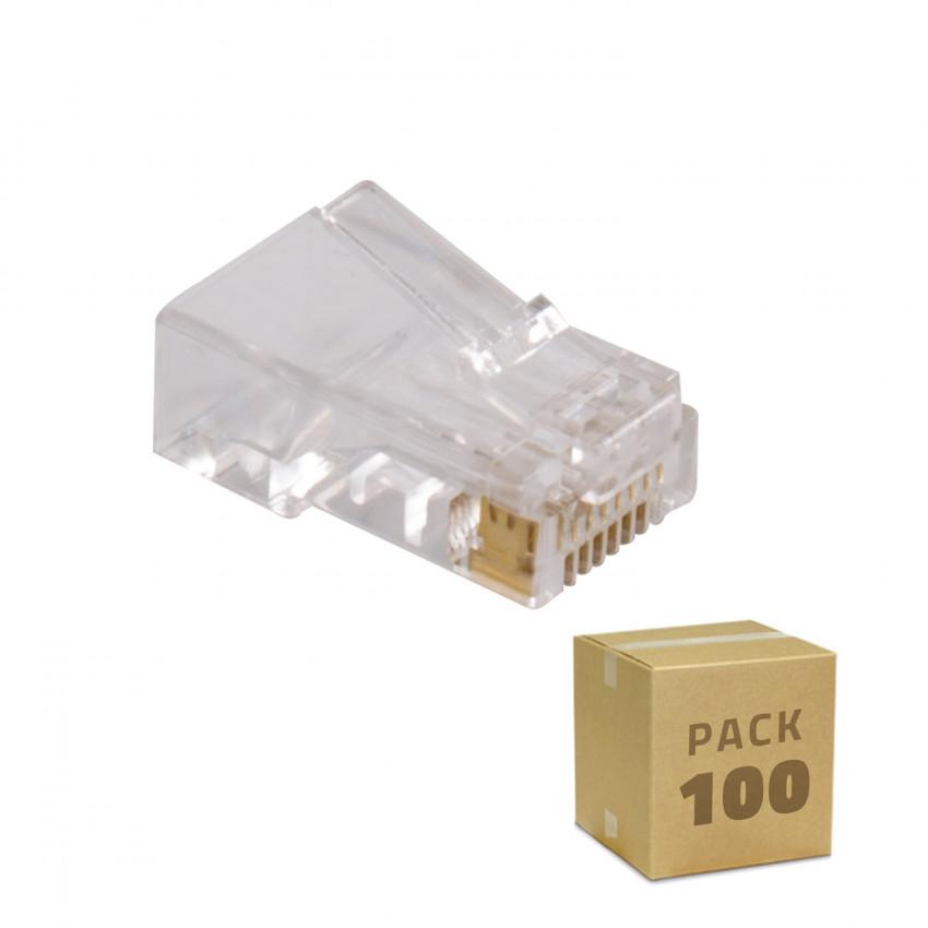 Pack 100 Unidades RJ45 UTP