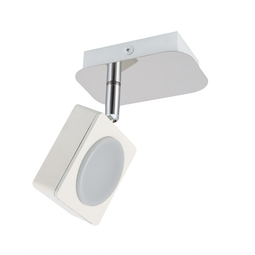Aplique LED Orientable Capri 1 Foco 6W Blanco