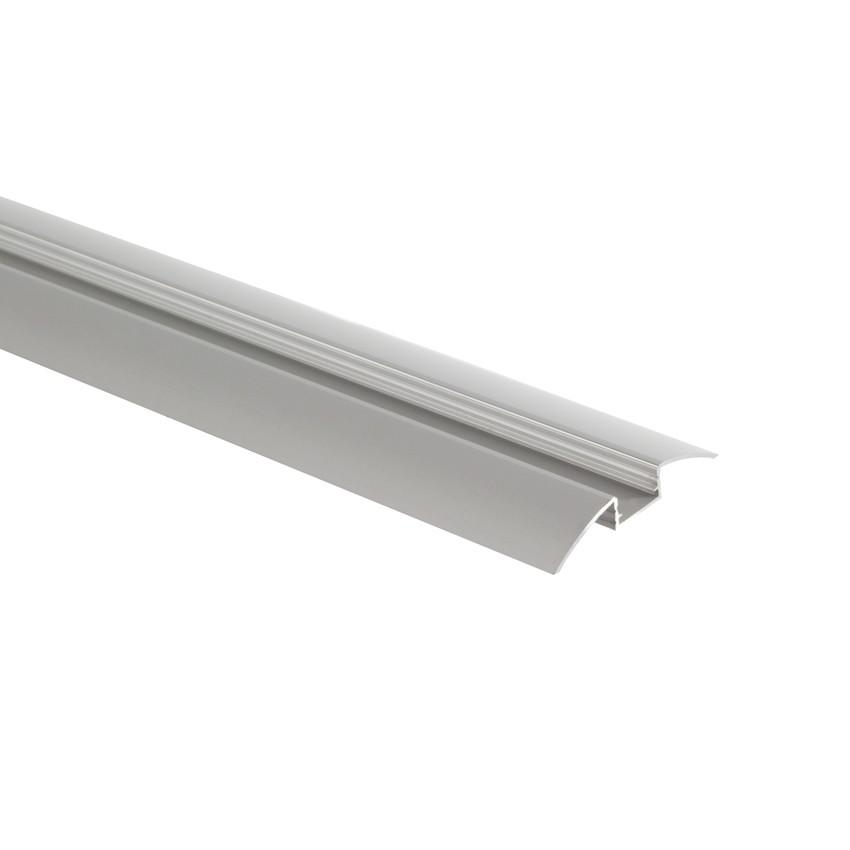 Perfil de Alumínio de Superficie Semi-Circular 1m para Fita LED