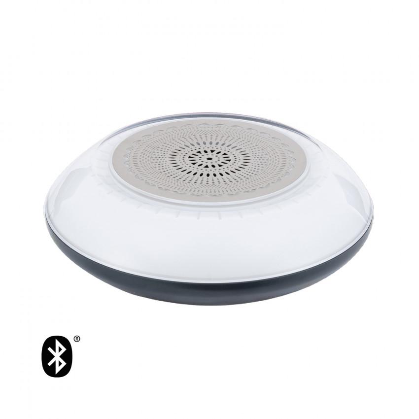 Altavoz Bluetooth Flotante para piscina con Luz LED RGBW IP67 Impermeable Acuático para Smartphone