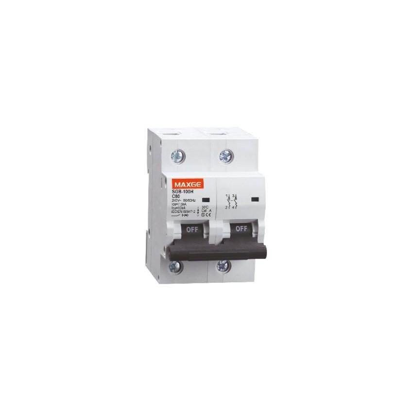 Interruptor Automático Industrial MAXGE 2P-63A-6kA