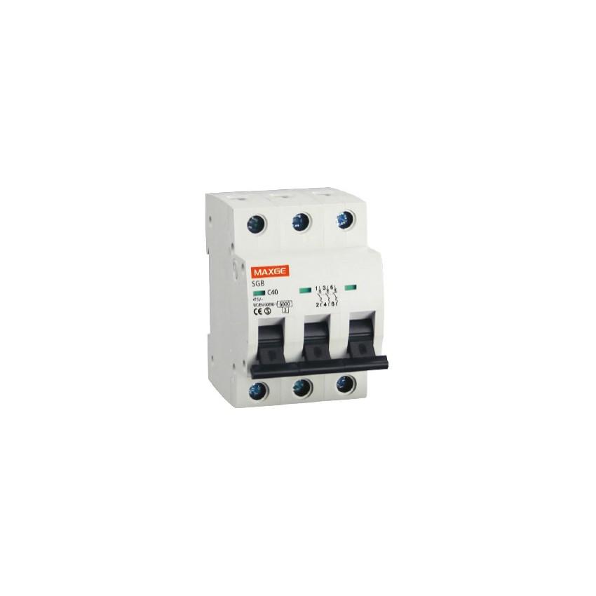 Interruptor Automático Industrial MAXGE 3P-10A-6kA