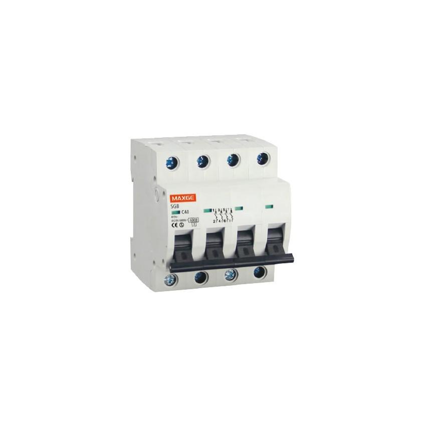Interruptor Automático Industrial MAXGE 4P-25A-6kA