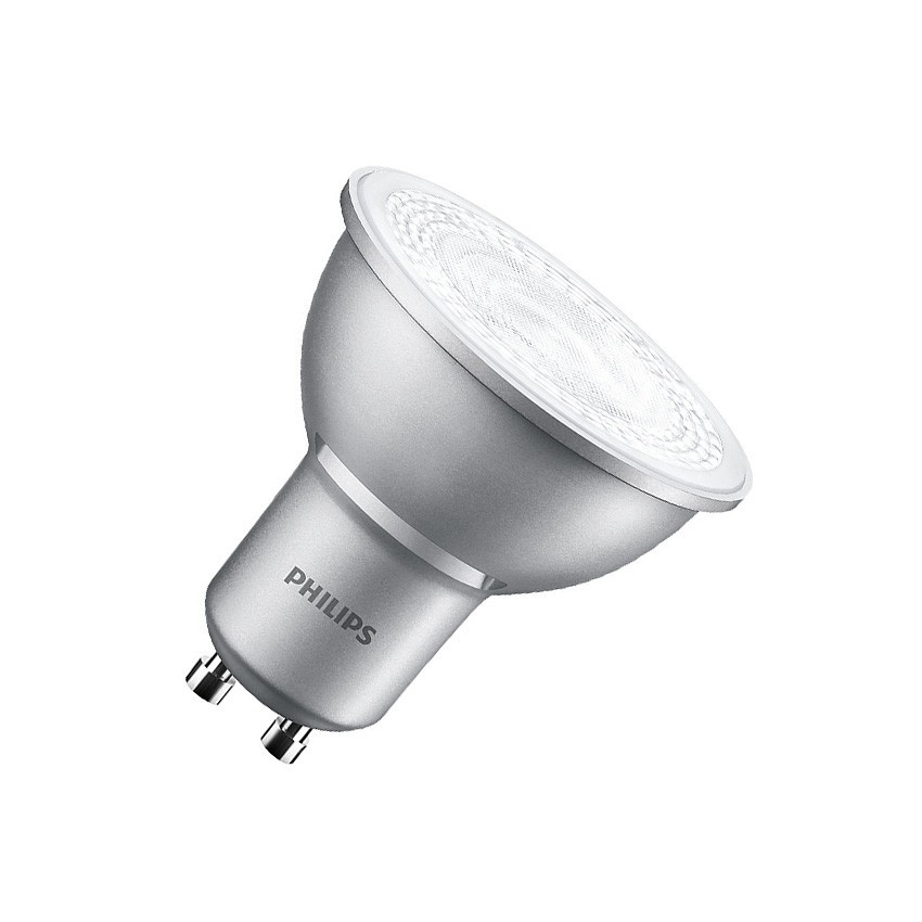 Bombilla LED GU10 Regulable PHILIPS MASTER spotMV 40° 4.3W