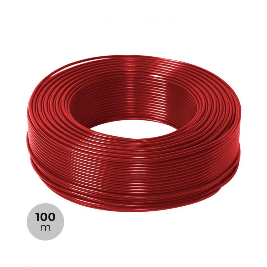 Rolo 100m Cabo 6mm² PV ZZ-F Vermelho