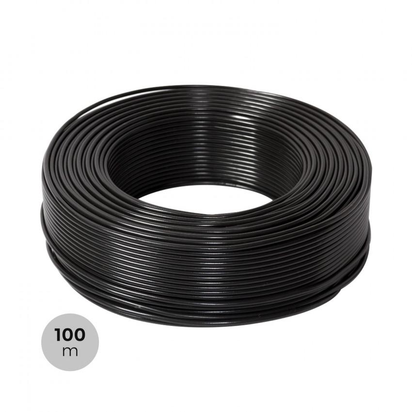 Rollo 100m Cable 6mm² PV ZZ-F Negro