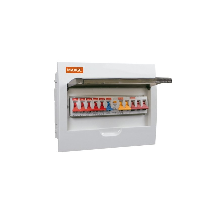 Pack Cofret 12 Módulos + 5 Interruptores Magneto-Térmicos + Interruptor Diferencial