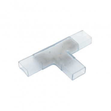 Conector Tipo T Tira LED SMD5050 Monocolor 220V AC