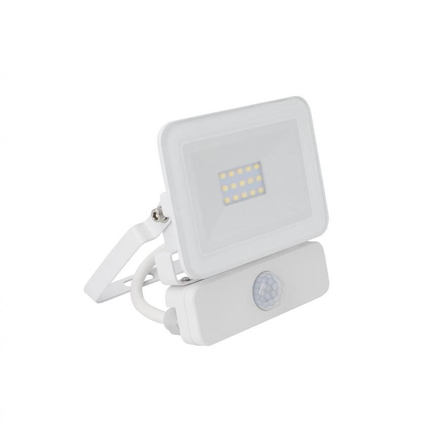 Foco Proyector LED 10W 120lm/W Slim con Detector de Movimiento PIR