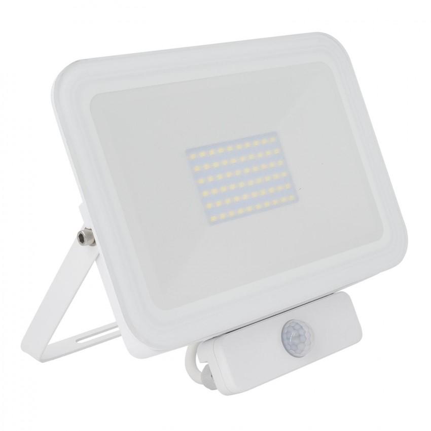 Foco Proyector LED 50W 120lm/W Slim con Detector de Movimiento PIR