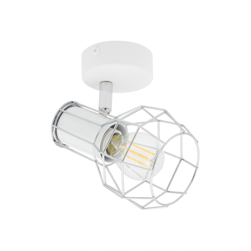 Aplique Orientable Lada 1 Foco Blanco