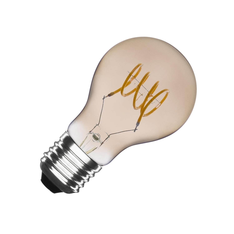 Bombilla LED E27 Regulable Filamento Reflect Divi A60 4W