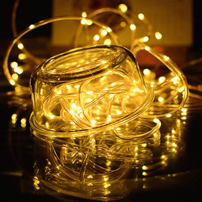 Guirnalda Tira LED con Cargador Solar 11m