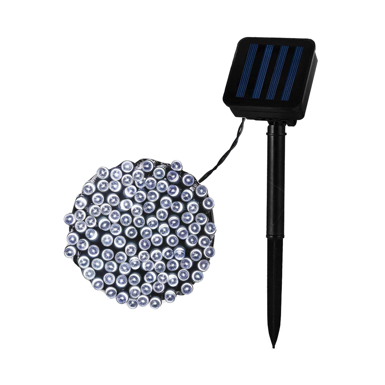 Guirnalda  Árbol Navidad LED con Cargador Solar