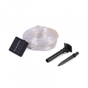 Guirnalda SnowFlakeBalls LED con Cargador Solar