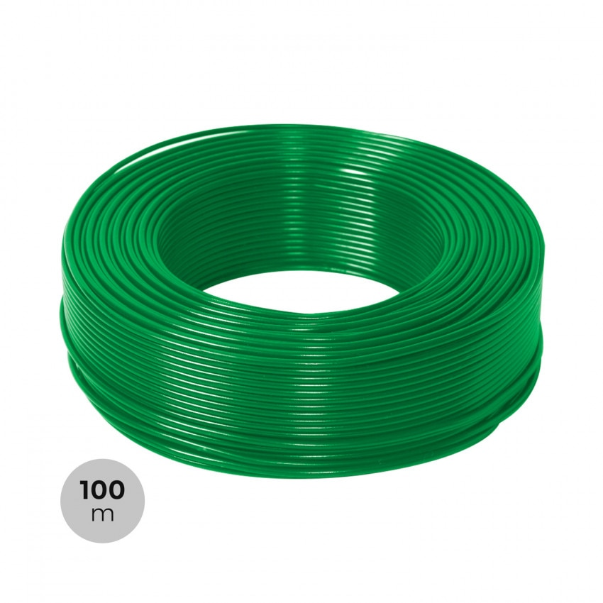 Rollo 100m Cable Eléctrico Manguera 3x1.5mm² Libre Halógenos RZ1-K (AS)