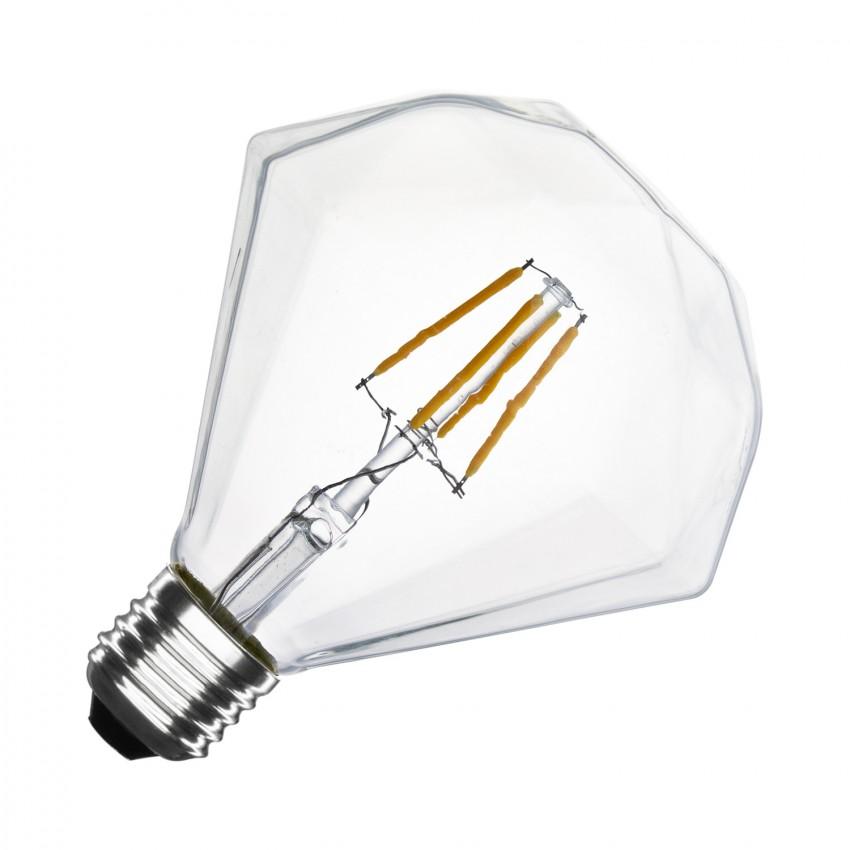 Lâmpada LED E27 Regulável Filamento Diamond G105 3.5W