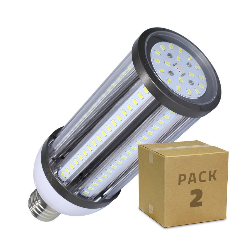 Pack Lâmpada LED Iluminação Pública Corn E40 54W (2 Un)