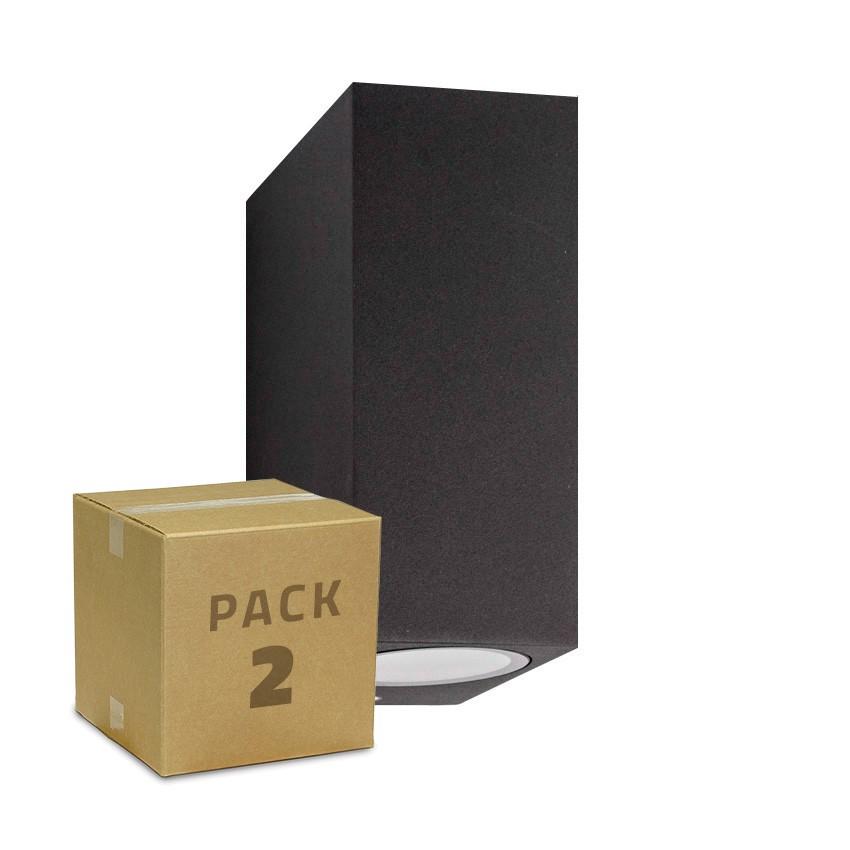 Pack Aplique Miseno Cinzento Escuro Iluminação Dupla Cara (2 Un)