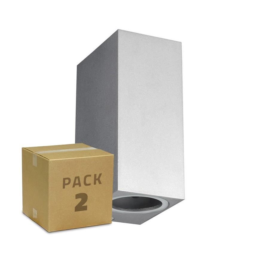 Pack Aplique Miseno Prata Iluminação Dupla Cara (2 Un)