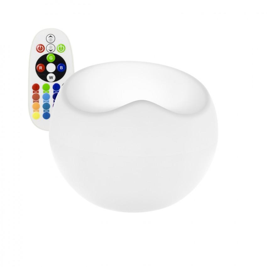 Sofá Puff LED RGBW Recarregável