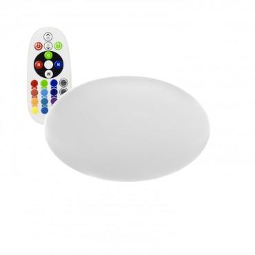 Oval LED RGBW Recargable