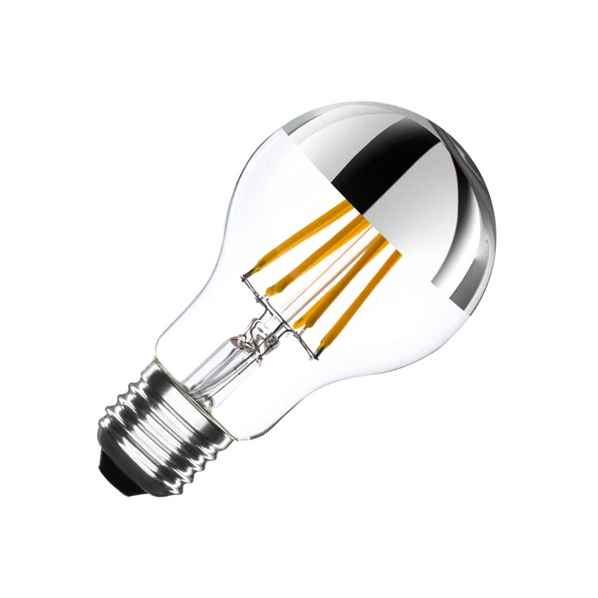 Lâmpada LED E27 Regulável Filamento Reflect Classic A60 6W