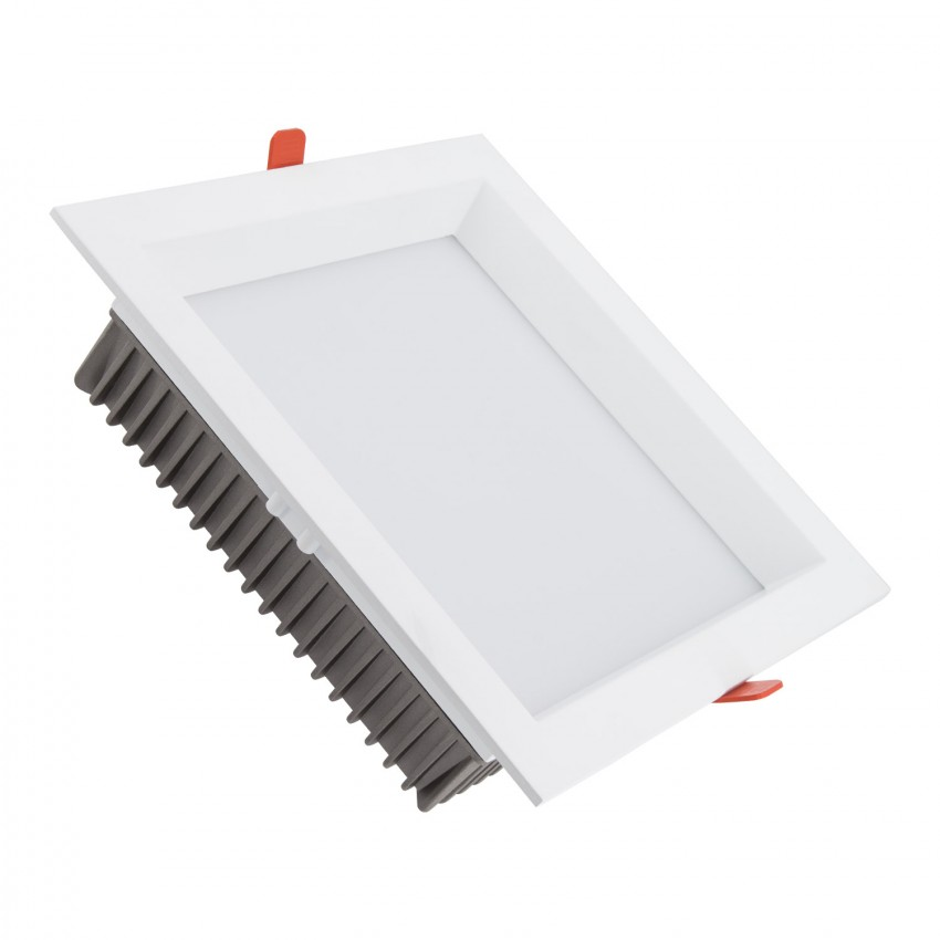 Downlight LED SAMSUNG Quadrado 120lm/W 30W (UGR19) Corte 200x200 mm