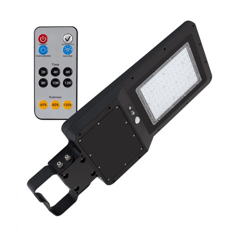 Luminaria LED 32W Solar con Sensor de Movimiento y Crepuscular