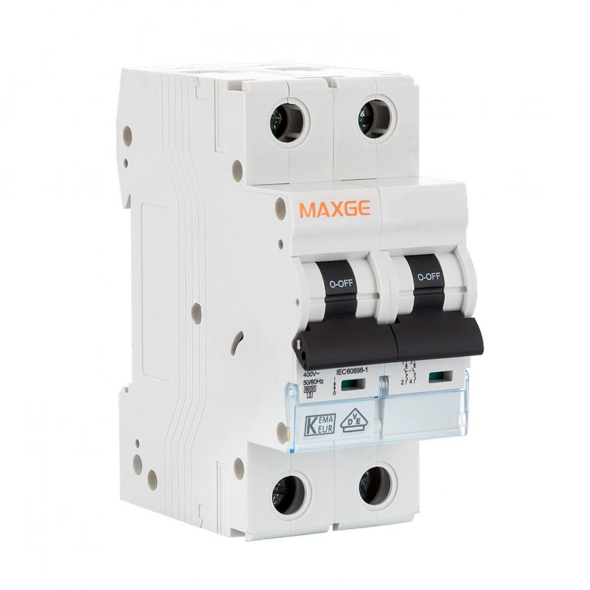 Interruptor Automático Residencial MAXGE 2P-6kA 6-63A