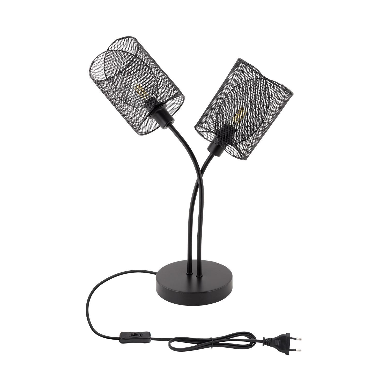 Lámpara de Sobremesa Klam Negro