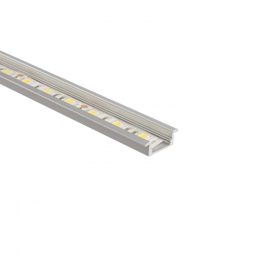 Perfil de Aluminio Encastrado 1m para Fitas LED