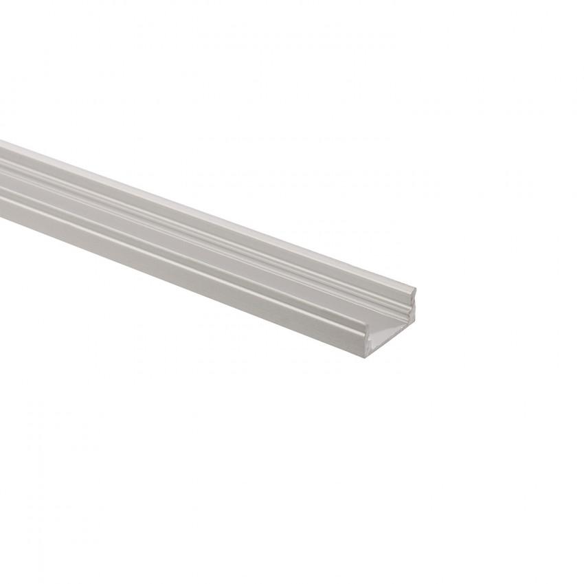 Perfil de Alumínio de Superficie 1m para Fitas LED