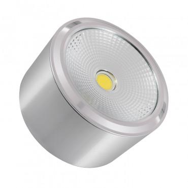 Plafón LED Style COB 12W Prata